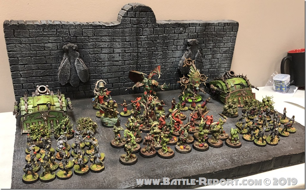 Death Guard & Nurgle Daemons by Josh Glantz