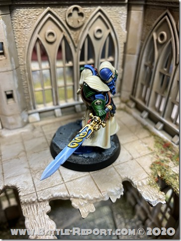 Iron Hands Primaris Librarian in Phobos Armour by Andrew Zoitas (7)