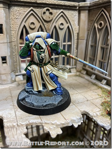 Iron Hands Primaris Librarian in Phobos Armour by Andrew Zoitas (9)