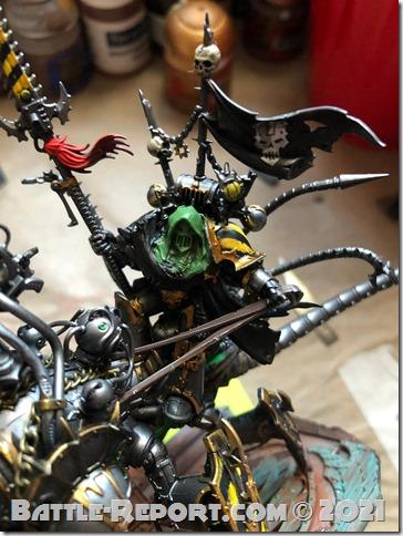 Iron Warriors Lord Discordant on Helstalker by Joseph Escobar (3)