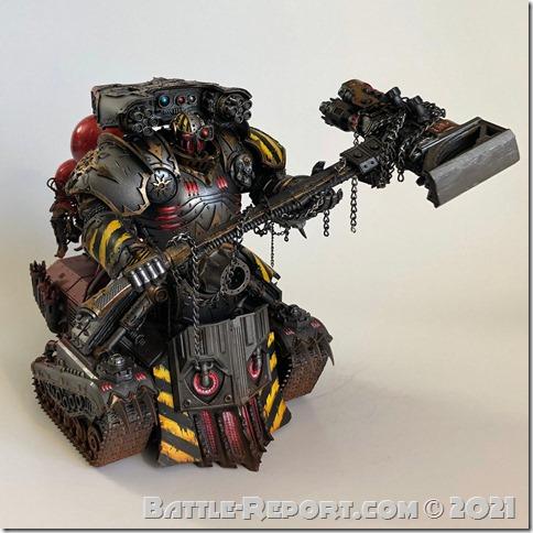 Iron Warriors Lord of Skulls by Joseph Escobar