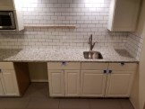Basement Remodel Backsplash