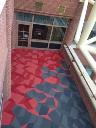 Shaw Contract Configure Collection Hexagon Carpet Tile