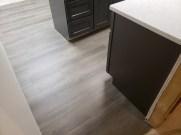 Basement flooring remodel