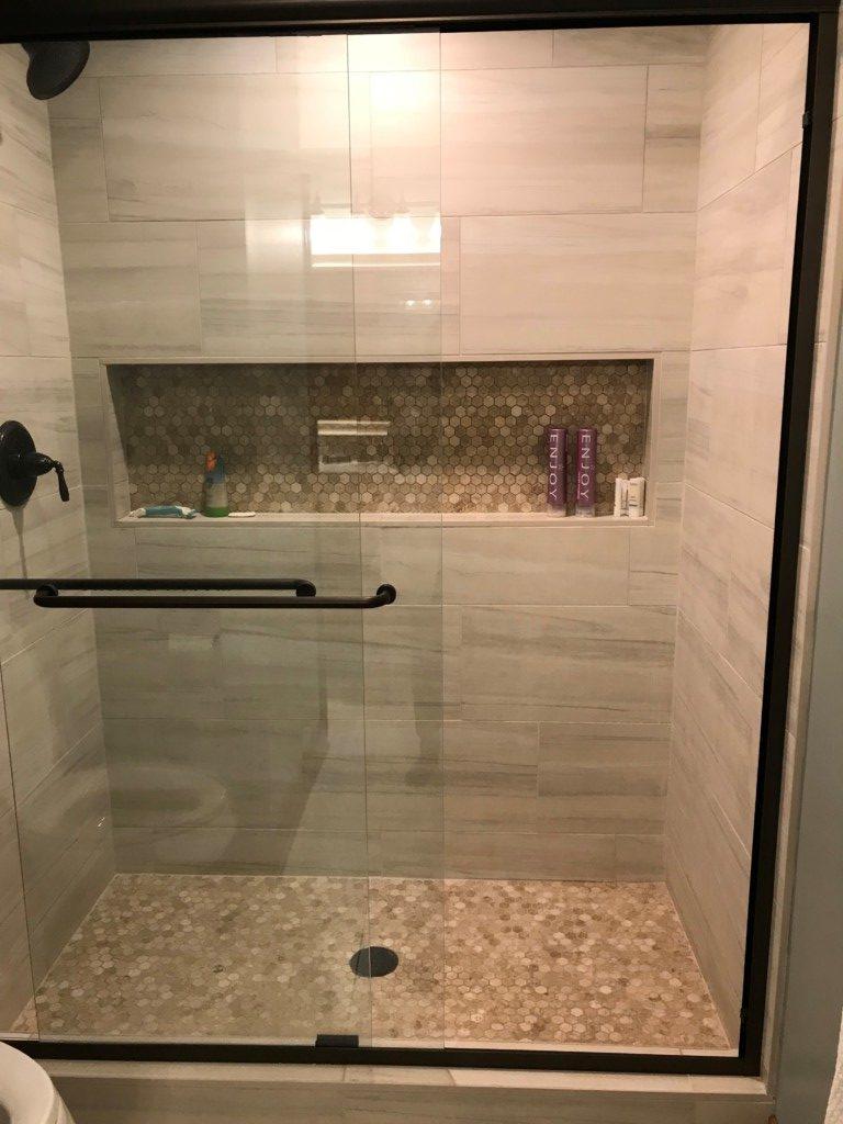 bc tile commercial shower tile battle