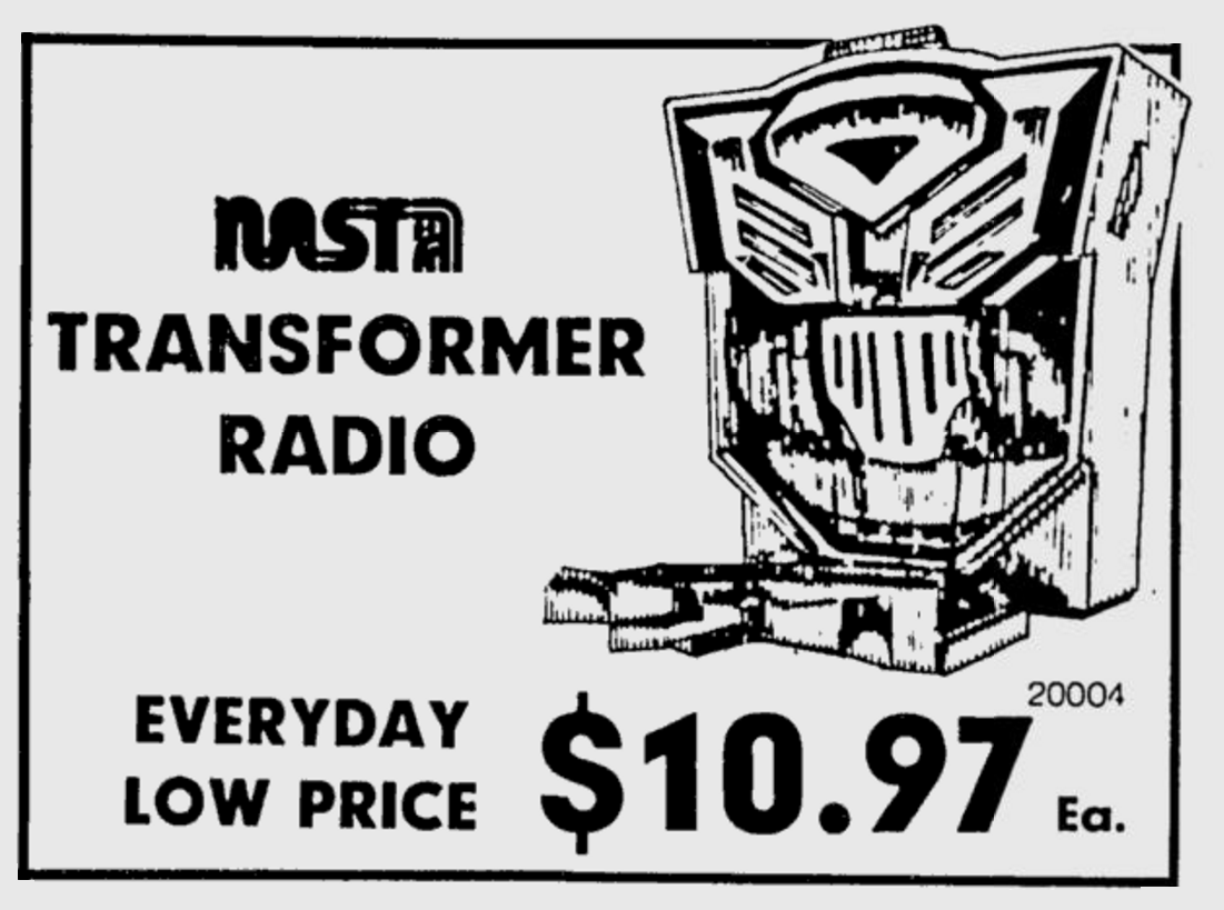 Everyday Low Price 10 97 For The Transformers Radio In