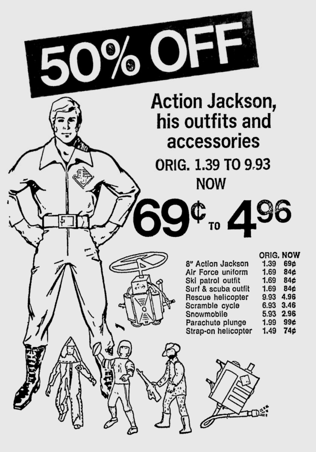 50 Off Action Jackson His Outfits And Accessories
