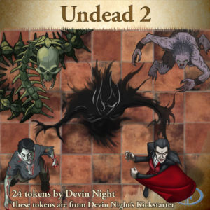 Devin Night's Token Pack #38: Undead 2
