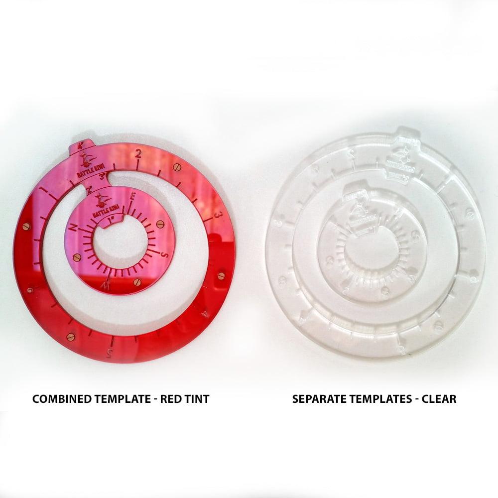 acrylic bolt action templates