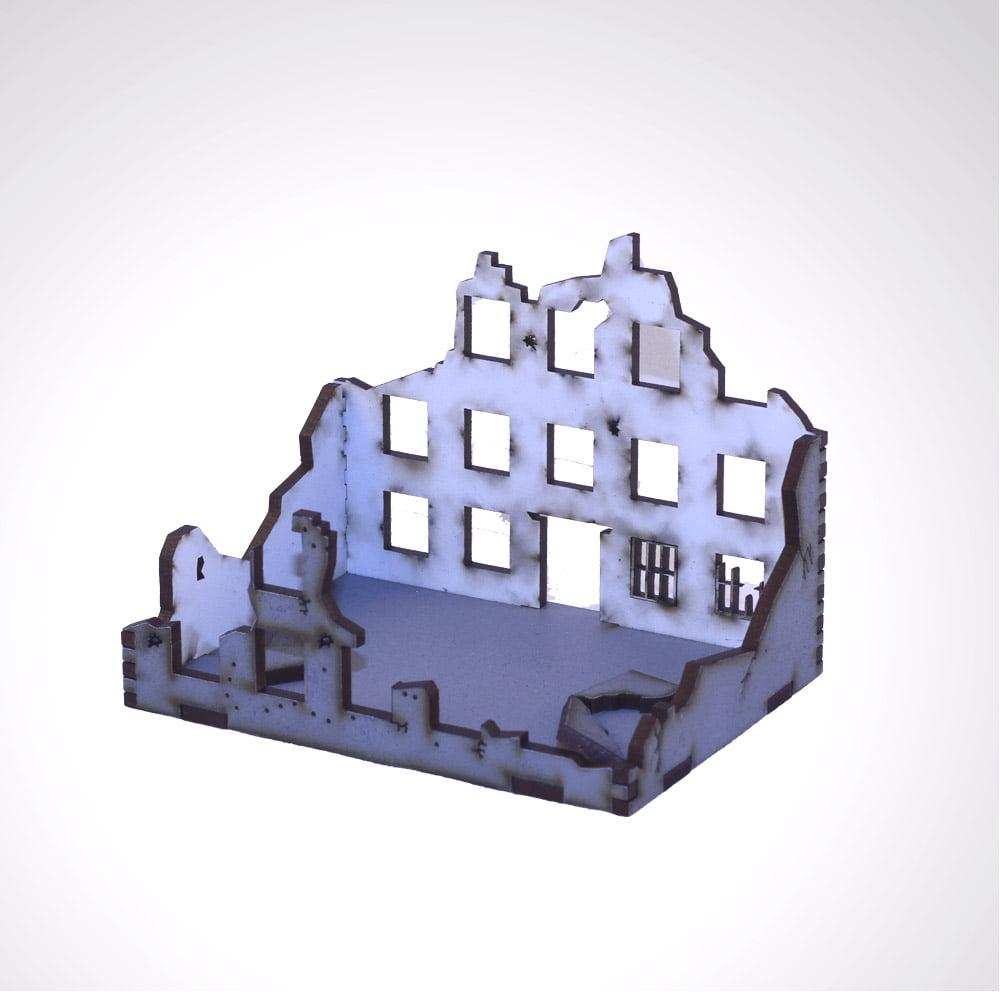 mdf laser cut stalingrad ruins