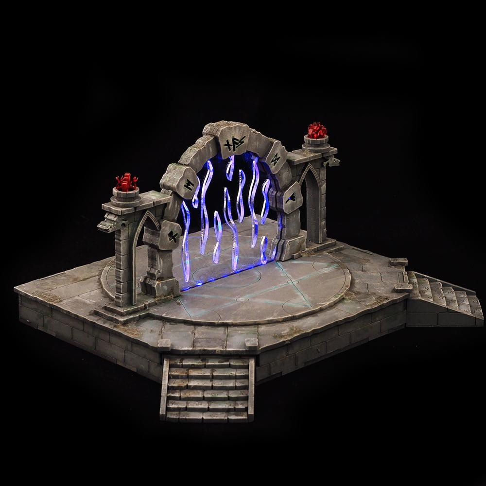 fantasy portal terrain for 28mm tabletop wargames