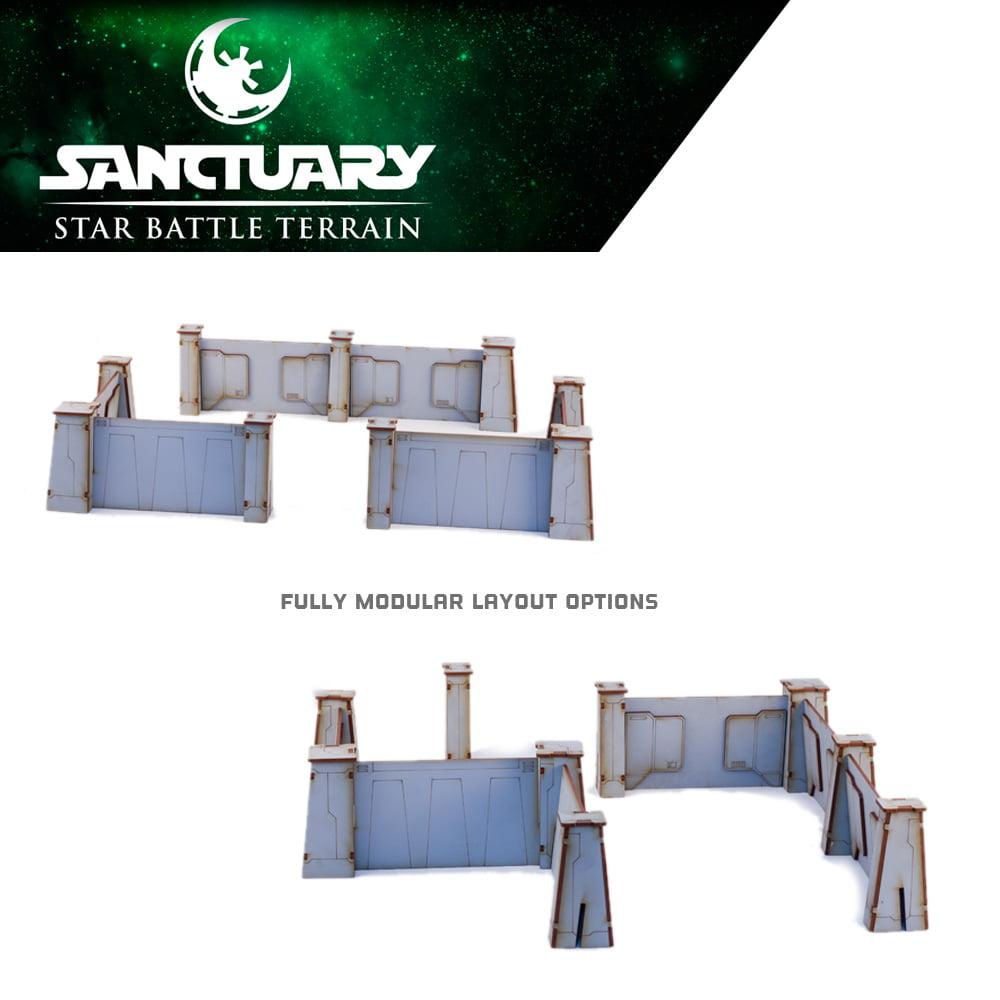 modular sci fi walls for wargaming