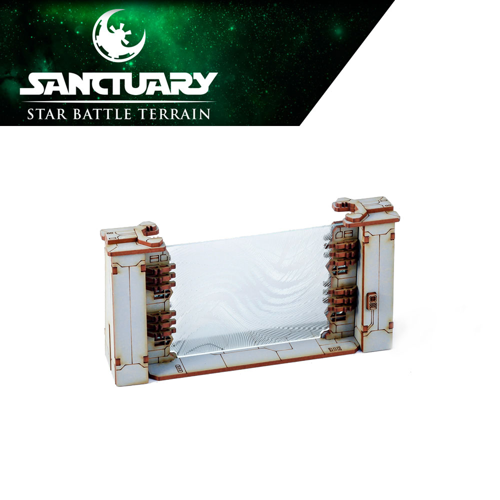 forcefield gate for star wars legion miniatures game