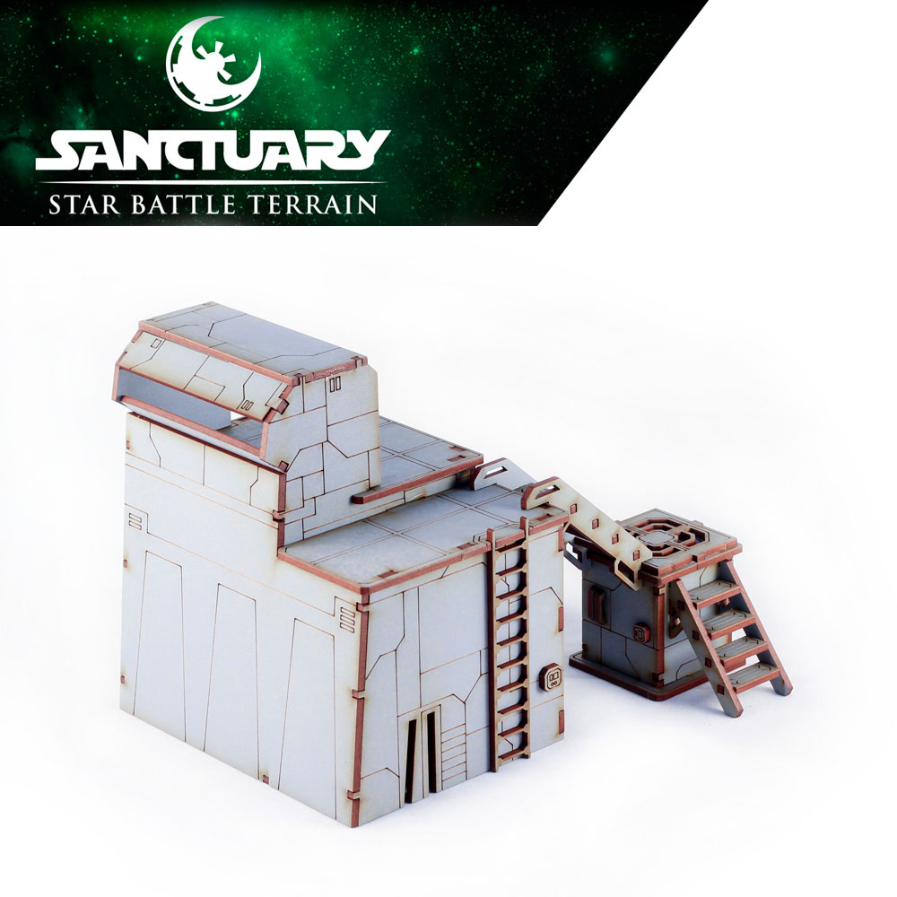 star wars imperial guard tower for legion tabletop game