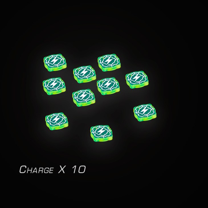xwing acrylic token set for charge status