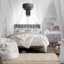 מיטת נוער אפורה living room