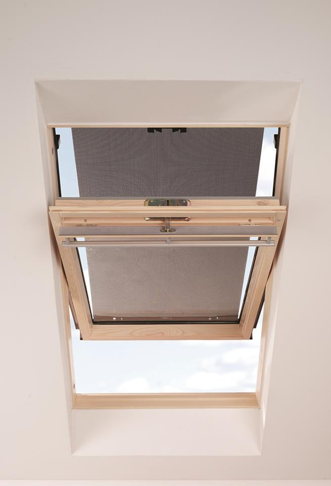 hitzeschutz markise fur velux dachfenster