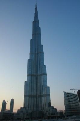Burj Khalifa - formerly known as Burj Dubai