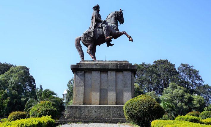 Addis Ababa - Emperor Menelik Statue