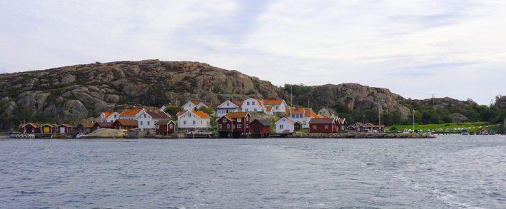 Small coastal village in Sotenäs