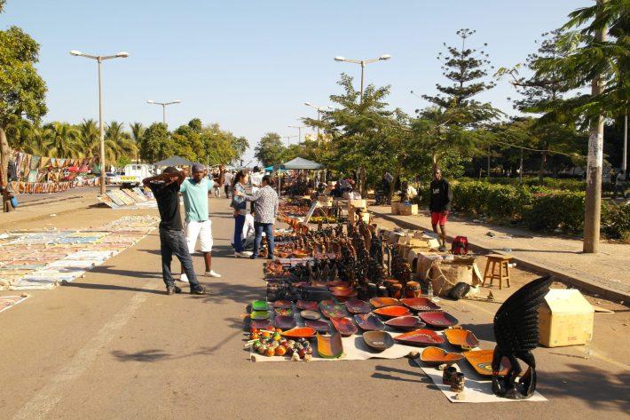 Street market in Maputo