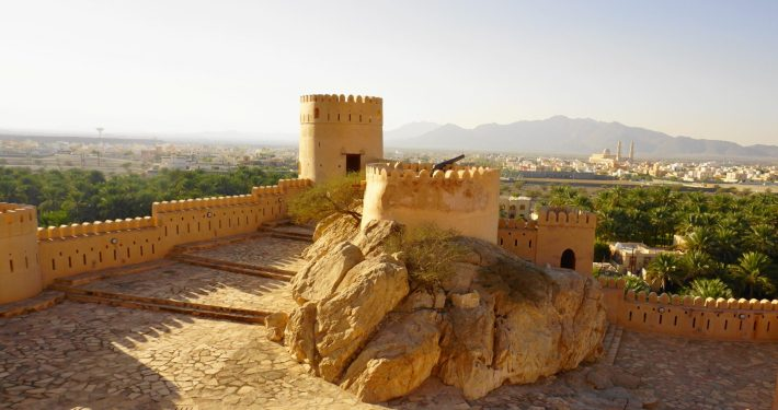 Muscat Nakhal Fort (inside)
