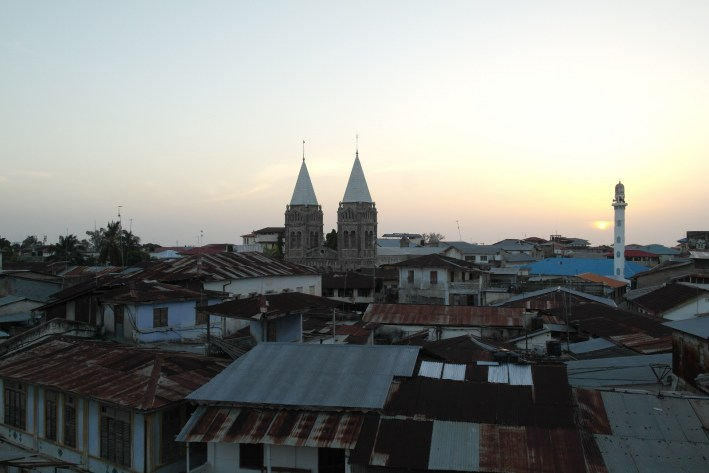 Sunset over Stone Town