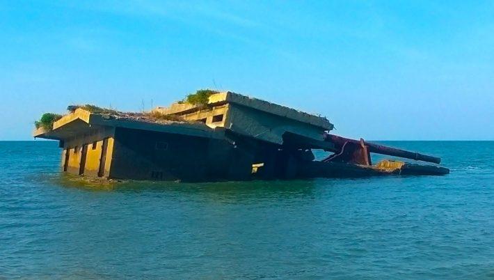 Xefina Island - Ruins of a Portuguese Fort