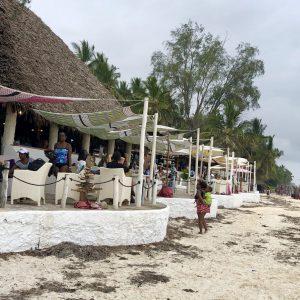 Nomad Restaurant in Diani
