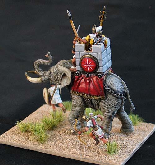 Converting 172 Ancients Plastic Figures War Elephant