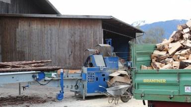 Brennholz für Winter - Richtig heizen, Foto: Knut Kuckel