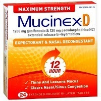 mucinex - sinus congestion