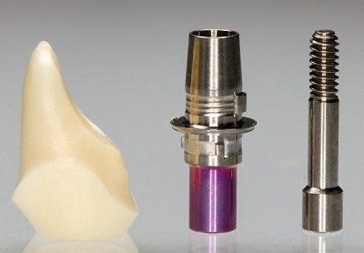 dental implant hybrid abutment