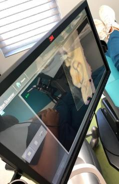 3M intraoral scanner in use at Bauer Orthodontics