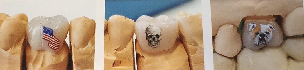 teeth tattoos