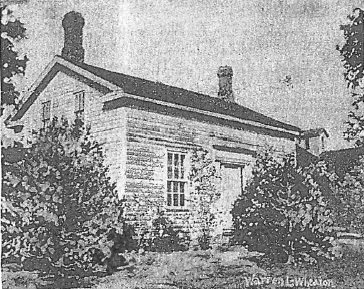 Image of Warren Wheaton's house.