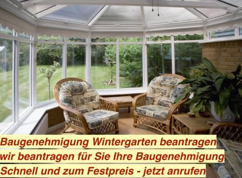 Baugenehmigung Wintergarten Kaltwintergarten Beantragen