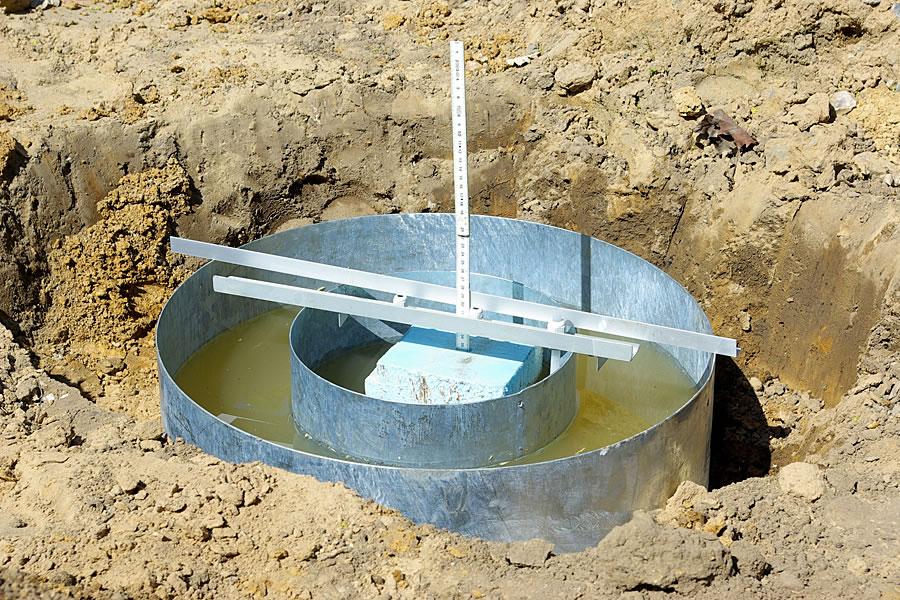 Regenwasserversickerung