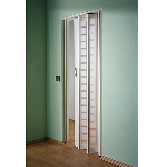Porte Accordeon New Generation Blanc Marley Acheter Chez Bauhaus