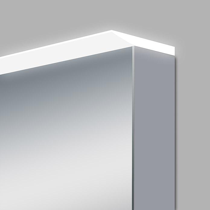 Armoire De Toilette Led Aluminio Light Acheter Chez Bauhaus