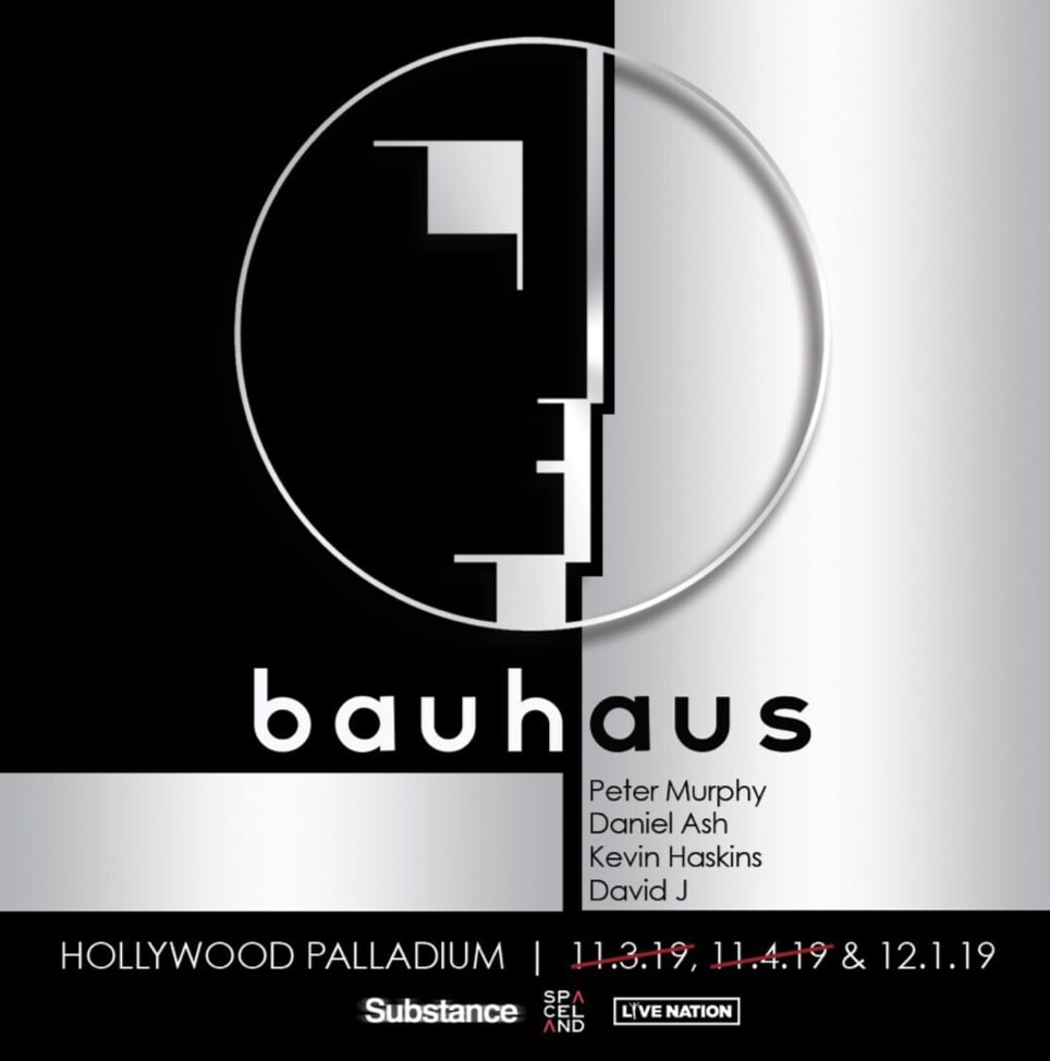 Bauhaus Hollywood Palladium 2019