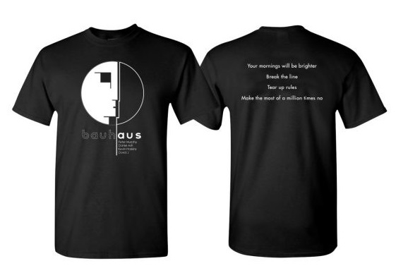 Bauhaus Hope Charity Shirt 2020