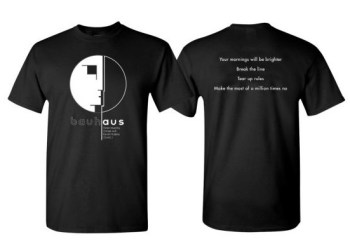 "Bauhaus Release ""Hope"" Shirt Benefiting COVID-19 Charities"