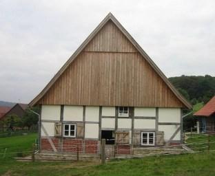 Sanierung eines Fachwerkgebäudes in Schermbeck