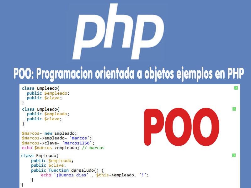 POO: Programacion orientada