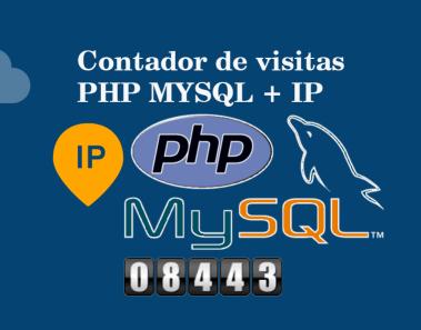 Contador de visitas PHP