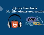 jQuery Facebook Notificaciones con sonido