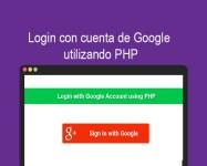 Login con cuenta de Google utilizando PHP