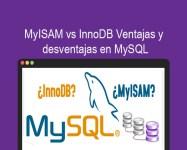 MyISAM vs InnoDB