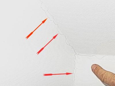 Rißgutachter, Risse in Wand Risse Trockenbau Rigips Dachschrägen BAumangel Haus bzw. Wohnung